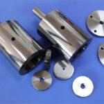 Tungsten steel indenter for tungsten carbide processing touch machine